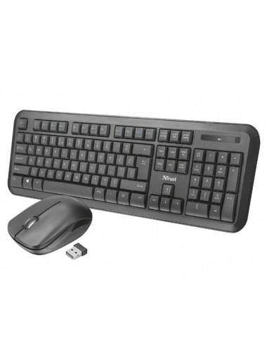 Teclado + Mouse Trust Nova Wireless