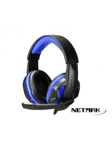 Auricular C/microfono Netmak Infinity Ps4