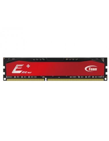 Memoria RAM Ddr-3 8 Gb 1600 Team Elite PLUS ROJO NEGRO RED BLACK UDIMM 1.5V