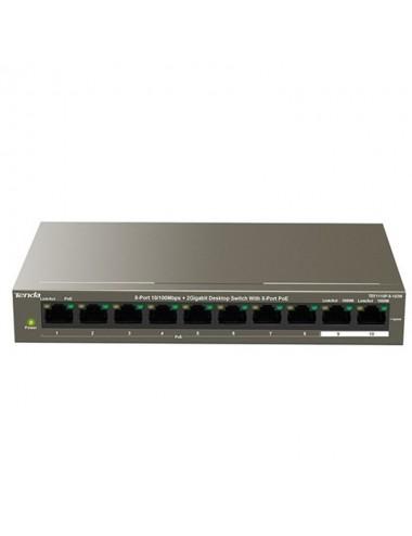 SW 8P TENDA TEF1110P-8-102W POE 250M 10 100