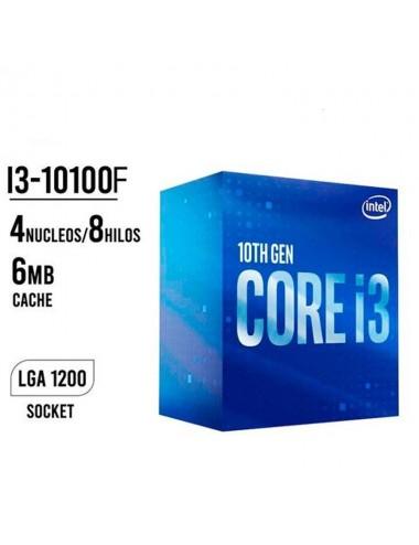Intel Core I3-10100f 3.6 Ghz 1200 - Solo Con Pc Completa