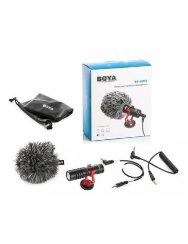 Microfono Boya By-mm1