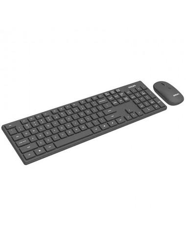 Teclado + Mouse Philips C602 Wls Bk