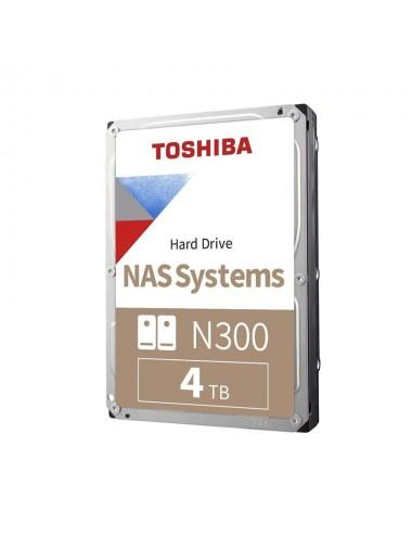 Hdd 4 Tb Sata 7200 128 Mb Toshiba N300 Nas