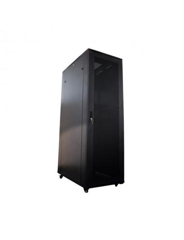 Glc Rack 20u-800 C/pta Cristal+pta Trasera+1 Estante