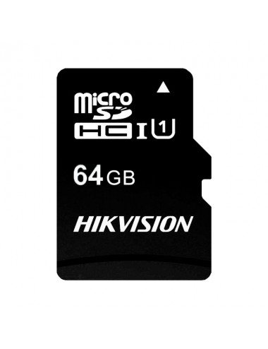 Microsd Hc 64 Gb Hikvision C1 - Cl10 Uhs-i