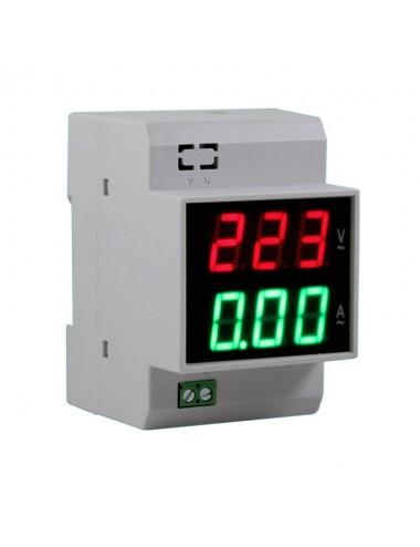 Voltímetro amperímetro Gralf Gf-100va