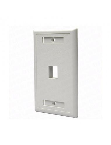 Glc Faceplate Ce-4035 1p Rj45