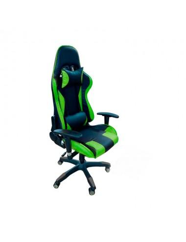 Silla Gaming Black+green Kfy8806