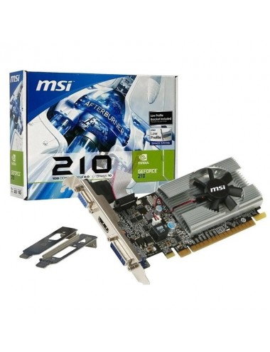 Pci-e 1 Gb Msi Geforce 210 Ddr3