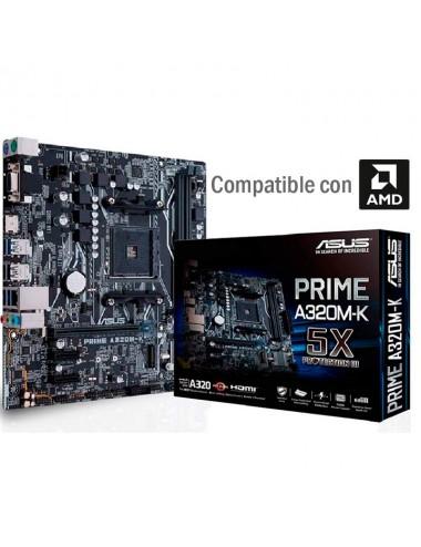 Placa madre motherboard Am4 Asus Prime A320m-k M.2