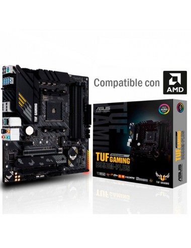 placa madre motherboard Am4 Asus Tuf B550m-plus