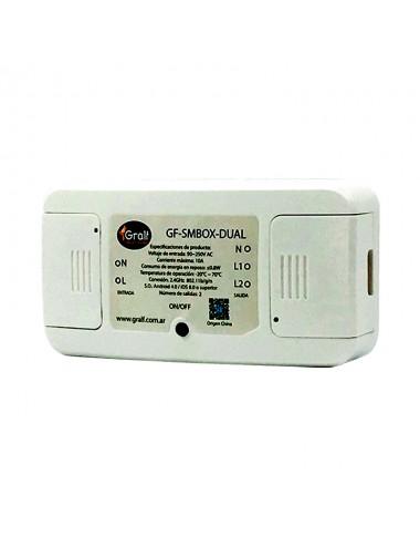 Interruptor Wifi Gralf Smbox dual Smbox-dual
