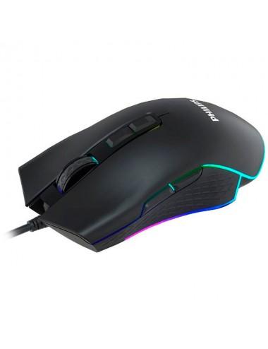 Mouse Philips G201 Spk9201bl Gaming Usb