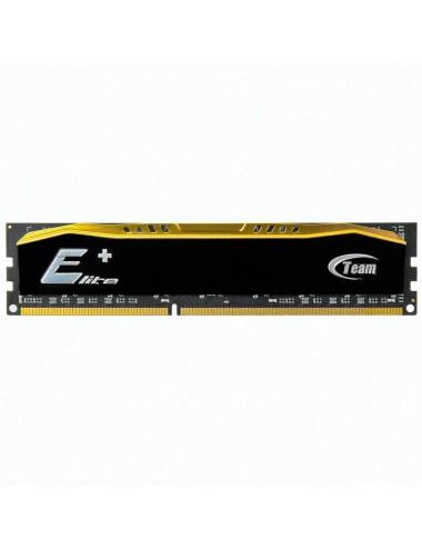 Memoria RAM Ddr-3 8 Gb 1600 Team Elite PLUS Negro dorado Black Gold UDIMM 1.5V