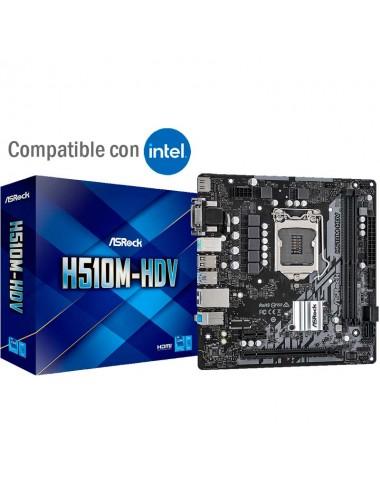 Placa madre motherboard socket 1200 Asrock H510m - Hdv para procesadores Intel