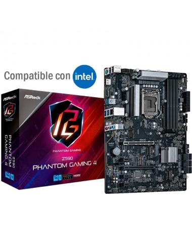 Placa madre motherboard socket 1200 Asrock Z590 Phantom Gaming 4 para procesadores Intel