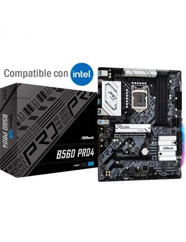 Placa madre MotherBoard socket 1200 Asrock B560 Pro4 para procesadores Intel