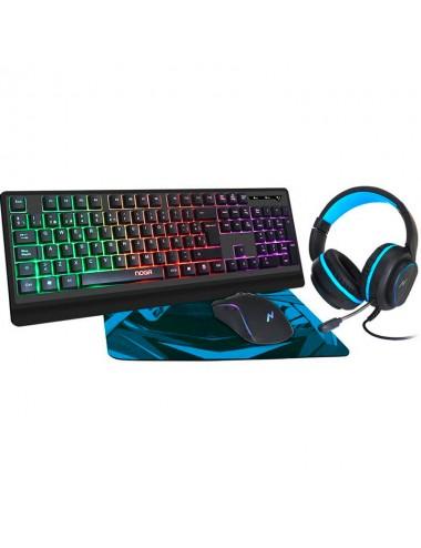 Kit Gaming Noganet Nkb-405 (teclado-mouse-aric-pad)