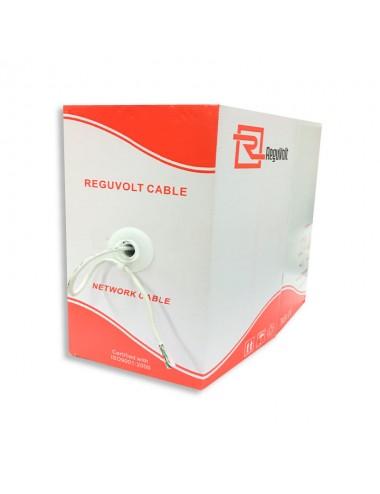 Reguvolt Cable Utp 5e 305m Ext Cca Rv-utp-506 Doble Vaina